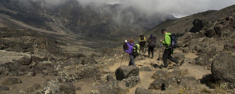Hiking Mt Kilimanjaro